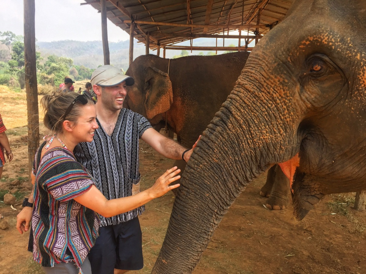 Getting Dirty (with Elephants) in Chiang Mai