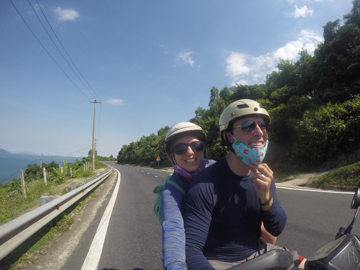 Scooting through the Hai Van Pass